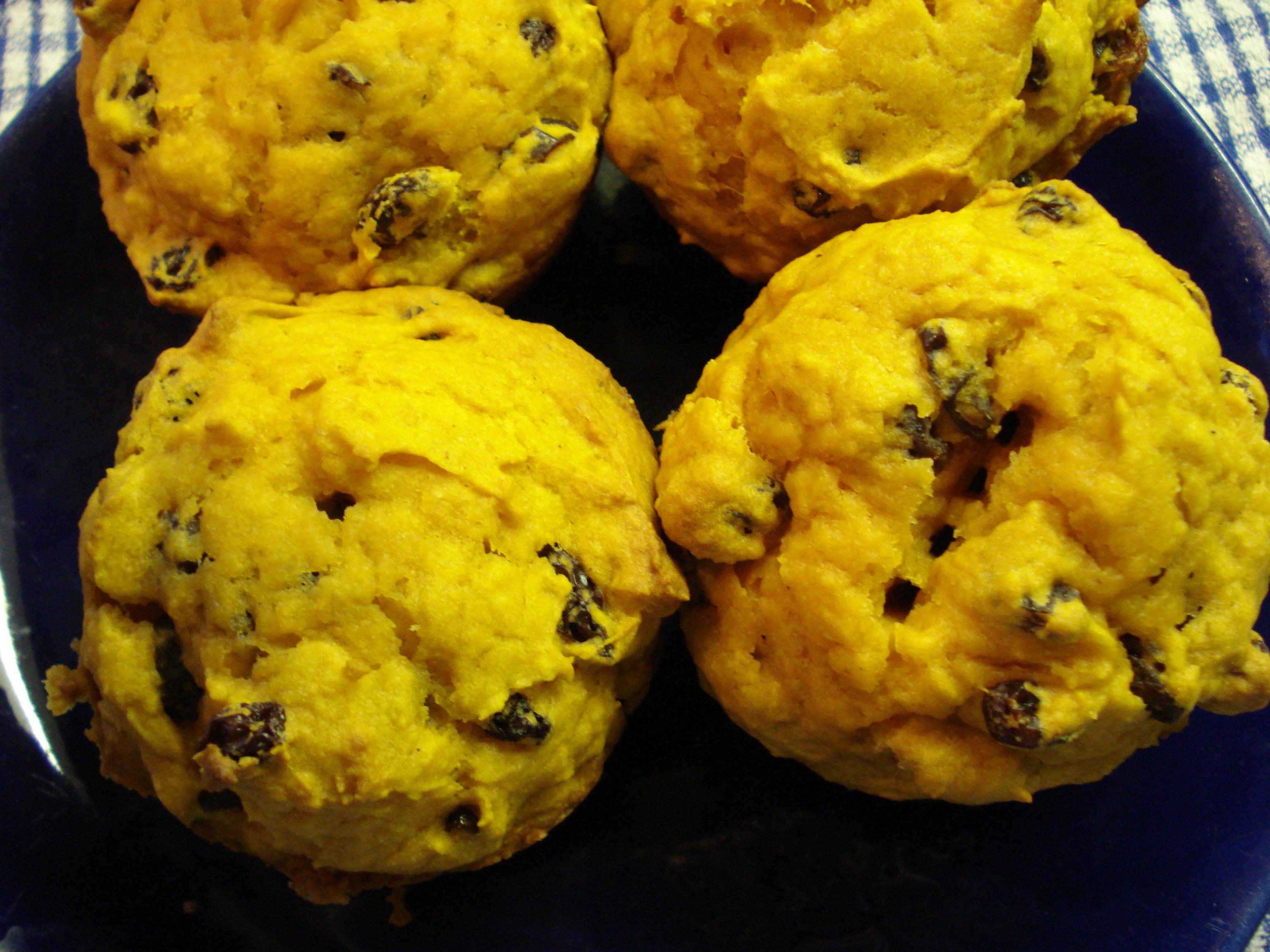 Easy Pumpkin Muffin Recipe | Cat Can Cook