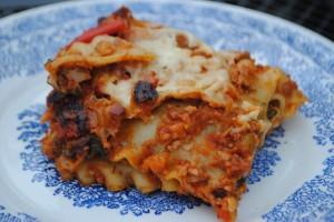Mushroom & TVP Lasagna