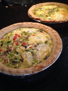 Easy Vegetarian Quiche